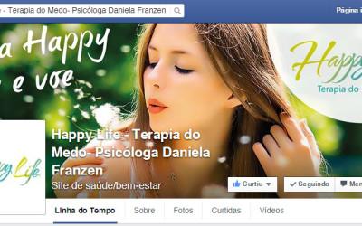 Clínica Happy Life estréia seu Facebook