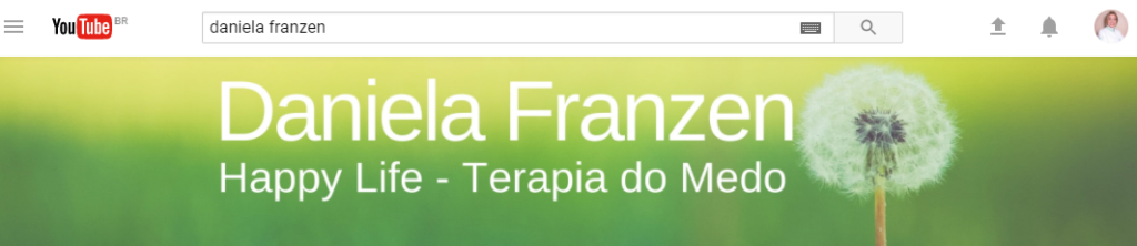 Canal YouTube Daniela Franzen